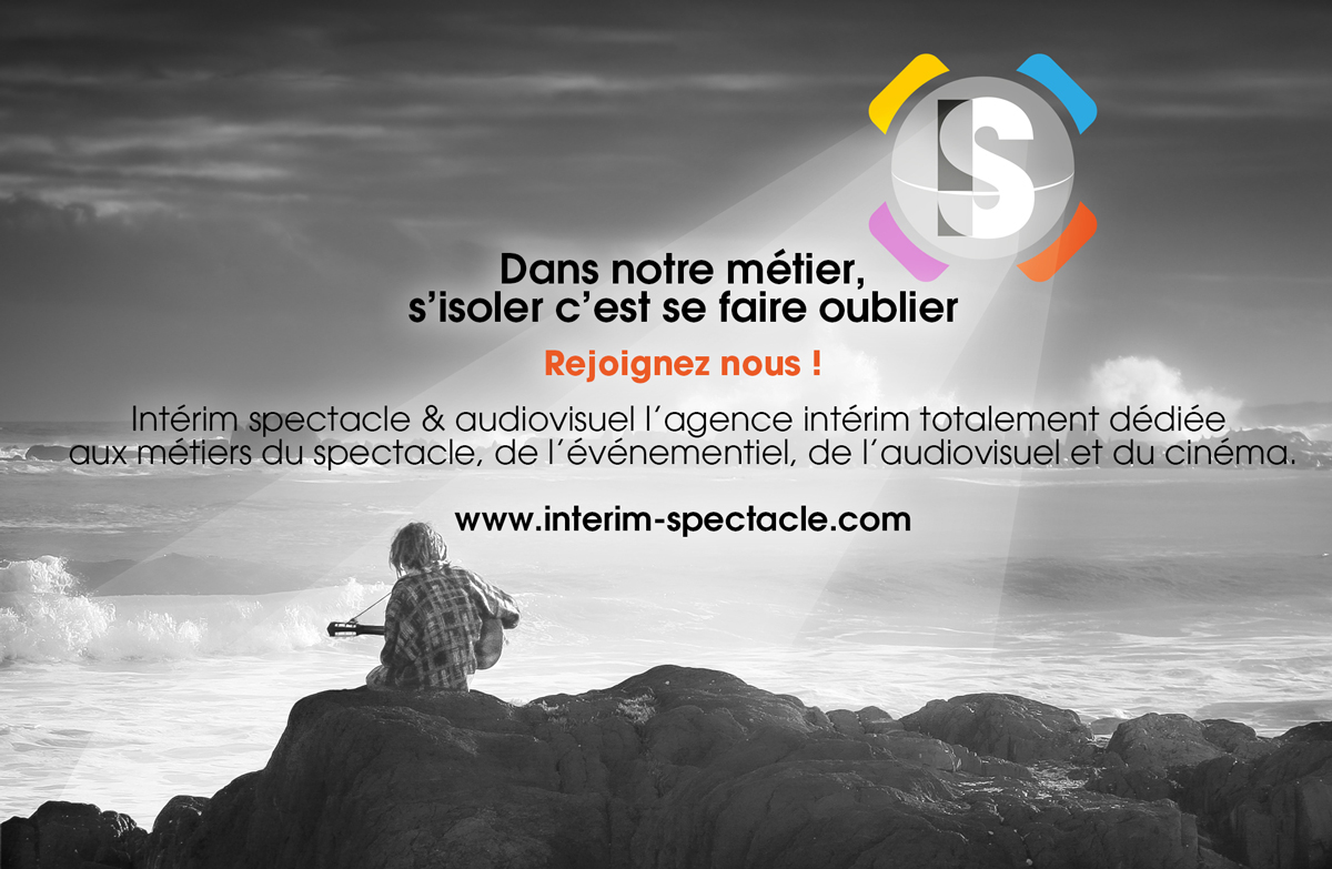 CV recrutement interim spectacle audiovisuel